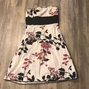 Dress. Cherry 🍒 flowers 🌸 🖤